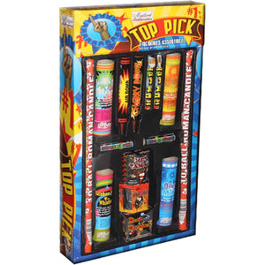 Mystical Fireworks Family Pack Assortment Top Pick