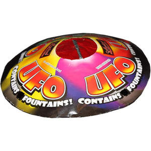 Mystical Fireworks Specialty Shaped Fountain UFO