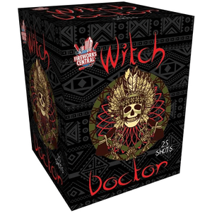 Fireworks Central Cakes 1 Piece Witch Doctor
