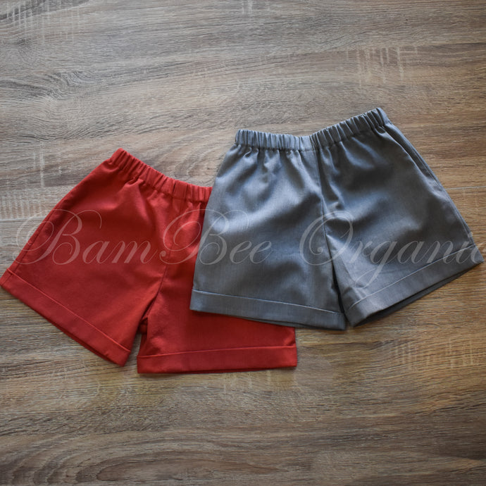 Classic Shorts - Sizes 0000-0