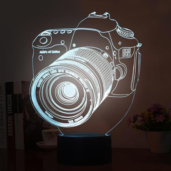 ZenLamp - 3D Camera LED Lamp
