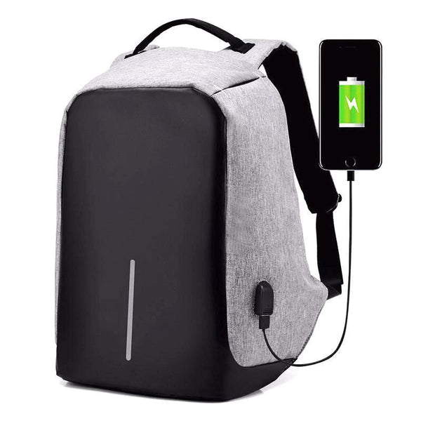 EzBob™ - Best Anti-Theft USB Charging Travel Backpack !