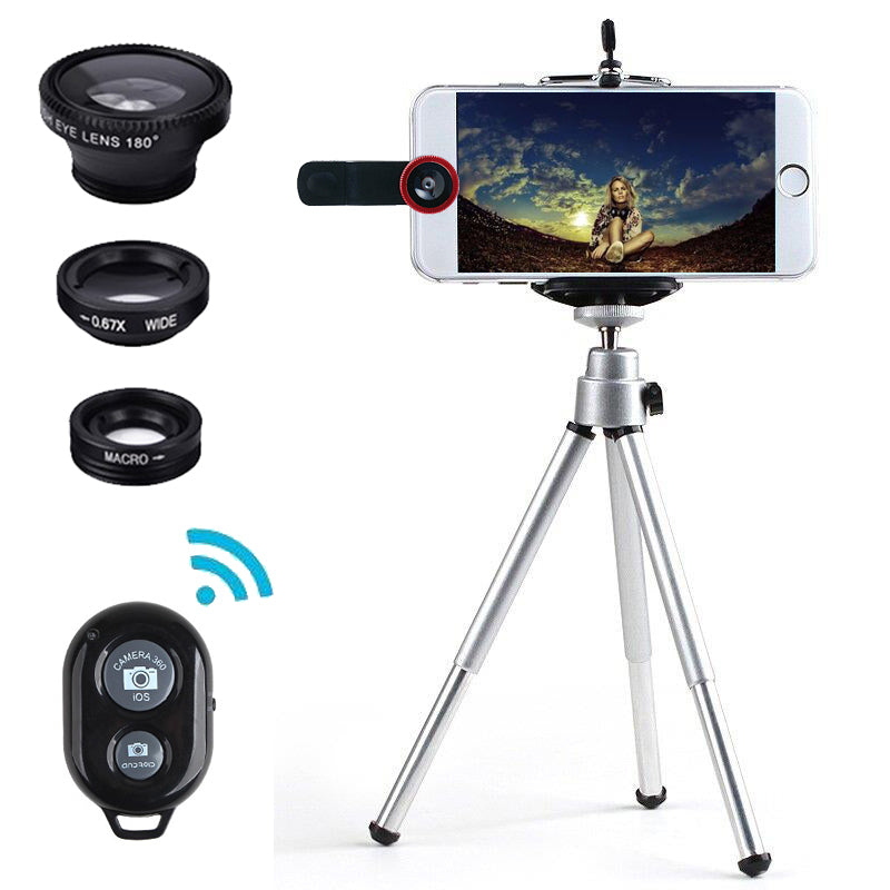 Mini Kit 5 in 1 Universal Mobile Lenses