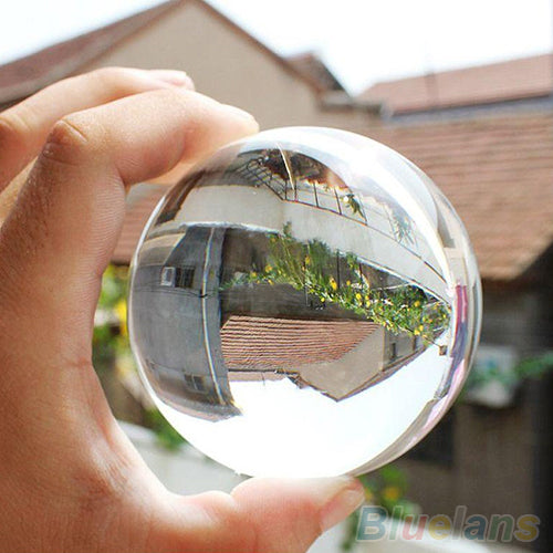 Photography  Crystal Sphere Lensball