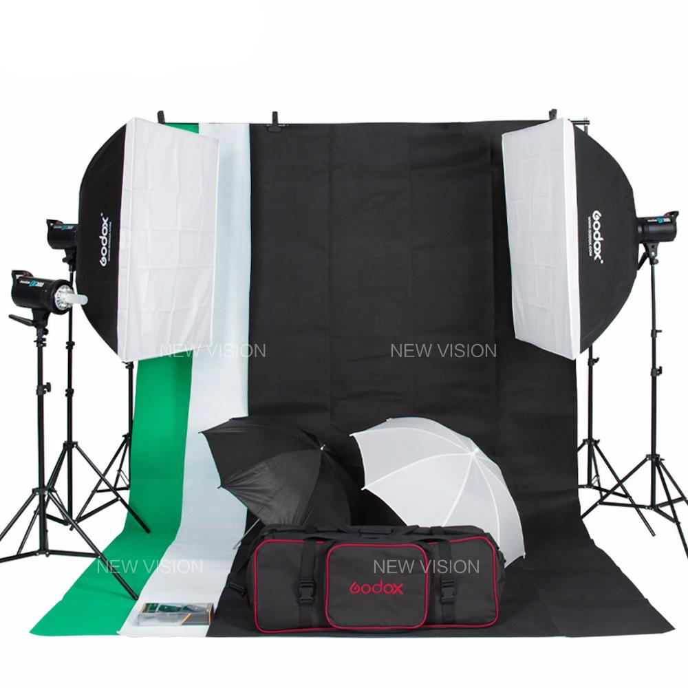 Pro Studio Flash Lighting Kit