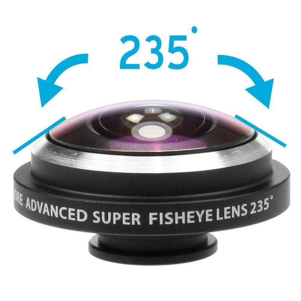 Super FishEye Mobile Lens 235 Degree!