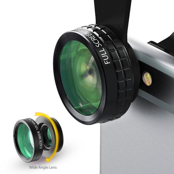 ZenLenses - Mini Clip-on Optic Cell Phone Camera Lens Kit