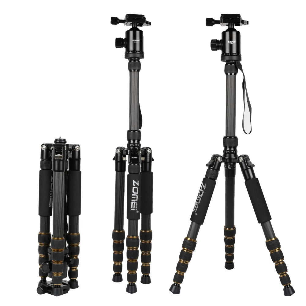 Z6 Portable Heavy Duty Travel Tripod+Ball Head