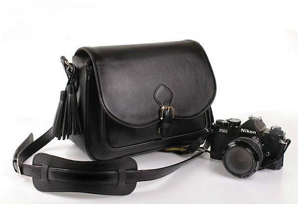 DSLR Leather Bag