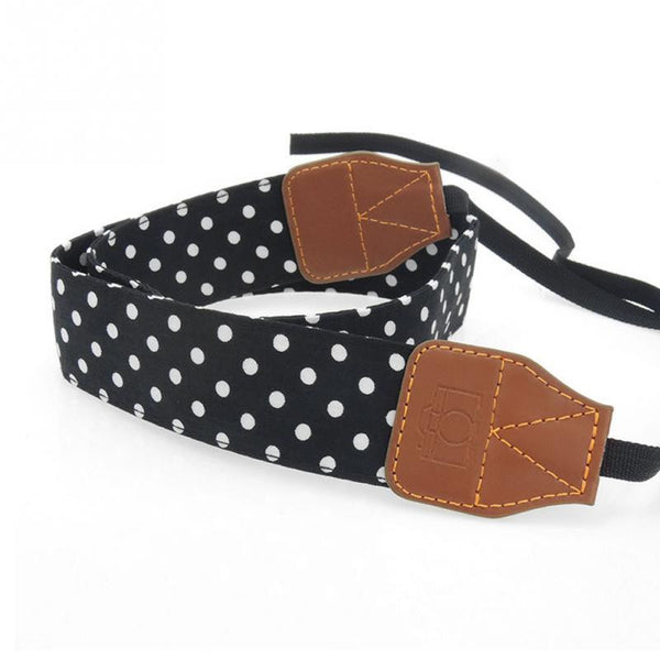 Universal Retro Blue Shoulder Belt Camera Strap
