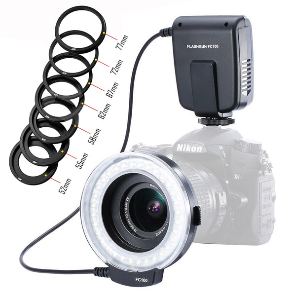 Pro Camera LED Macro Ring Flash