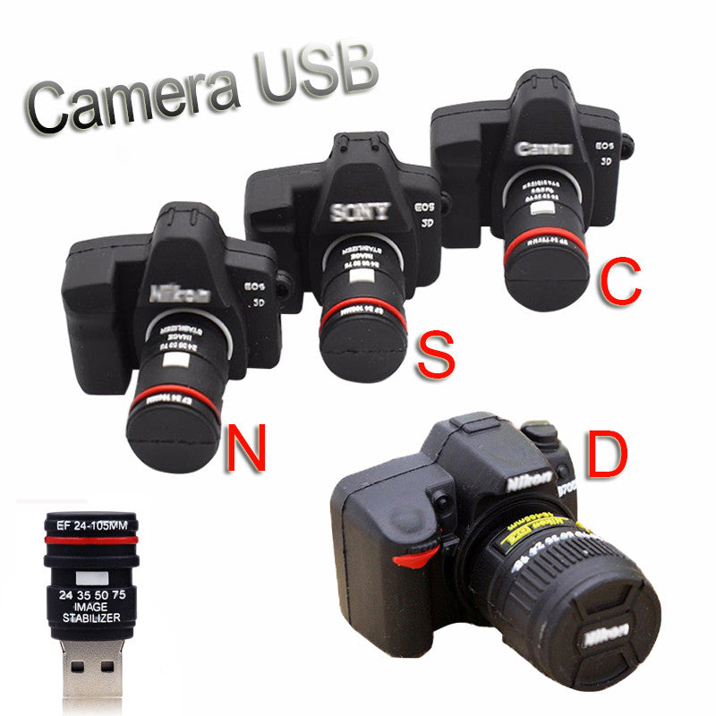 Mini DSLR USB Flash Drive 4-128GB