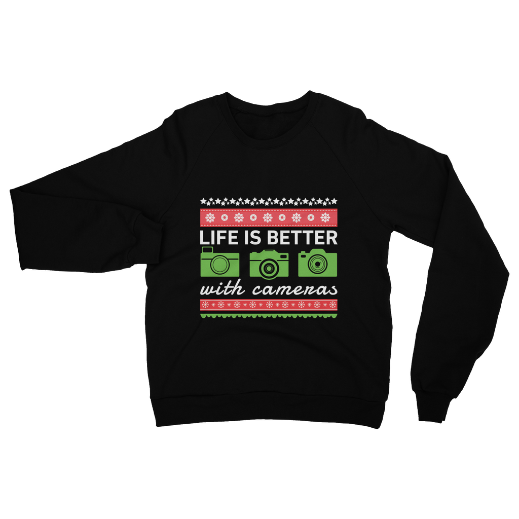 Life Is Better With Cameras Ugly Sweaters