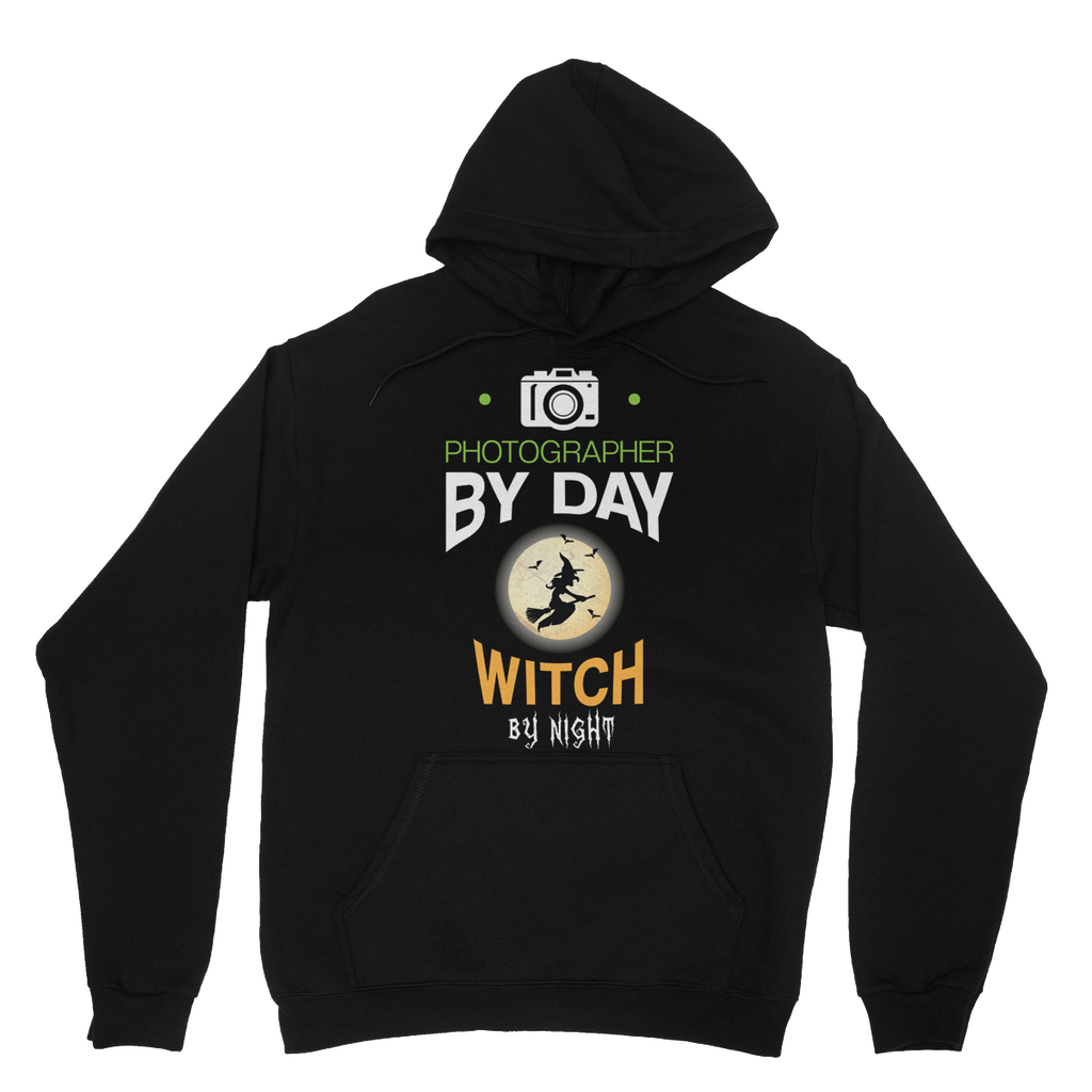 Photographer By Day Witch By Night Hoodie