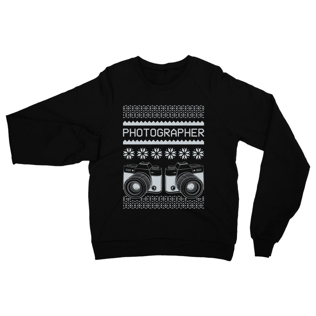 Photographer Double Camera Ugly Sweater