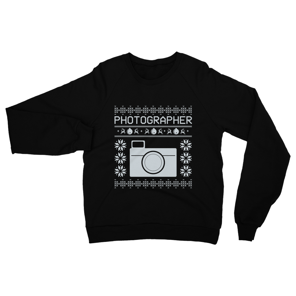 Retro Photographer Ugly Sweater