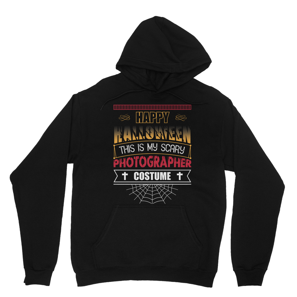 This Is My Scary Photographer Costume Hoodie