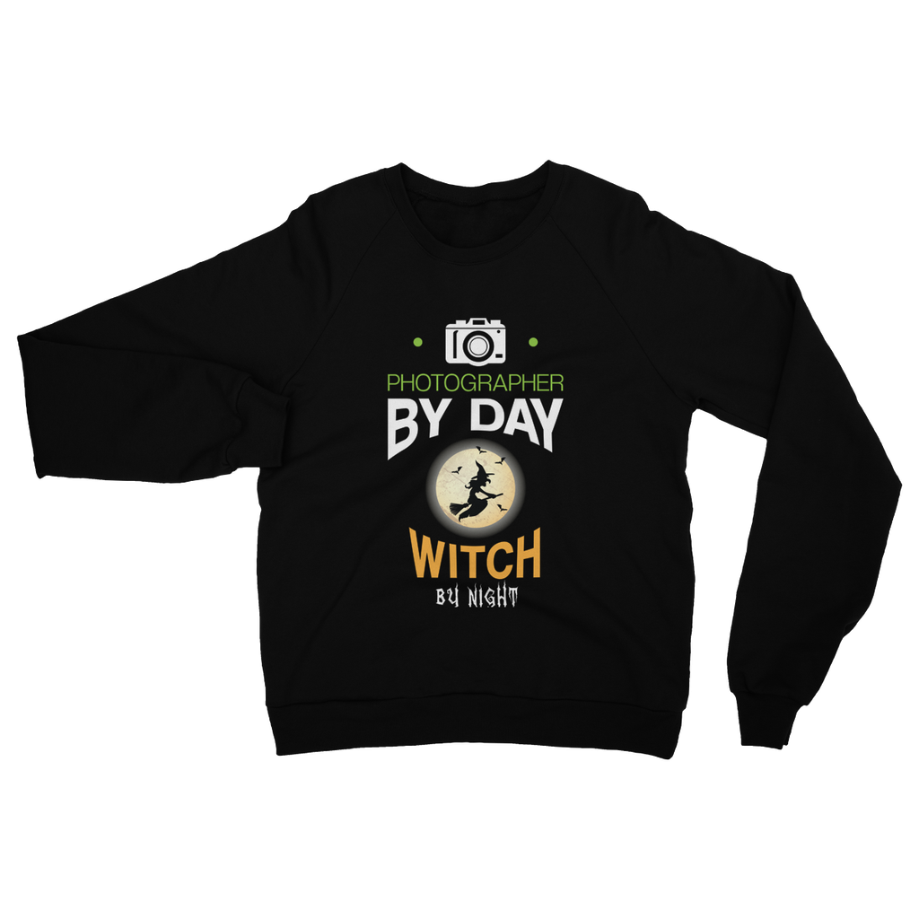 Photographer By Day Witch By Night Sweatshirt
