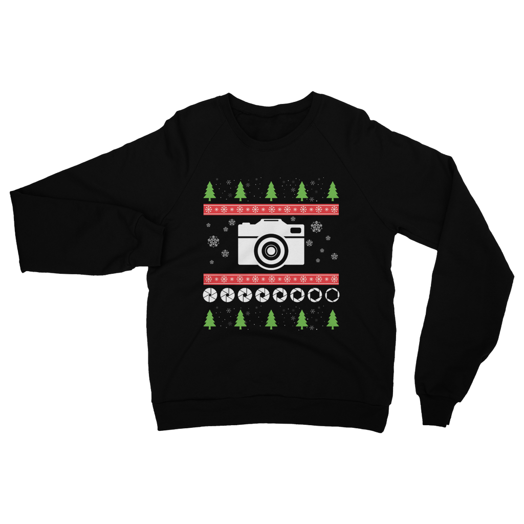 Lens Zoom Ugly Sweater