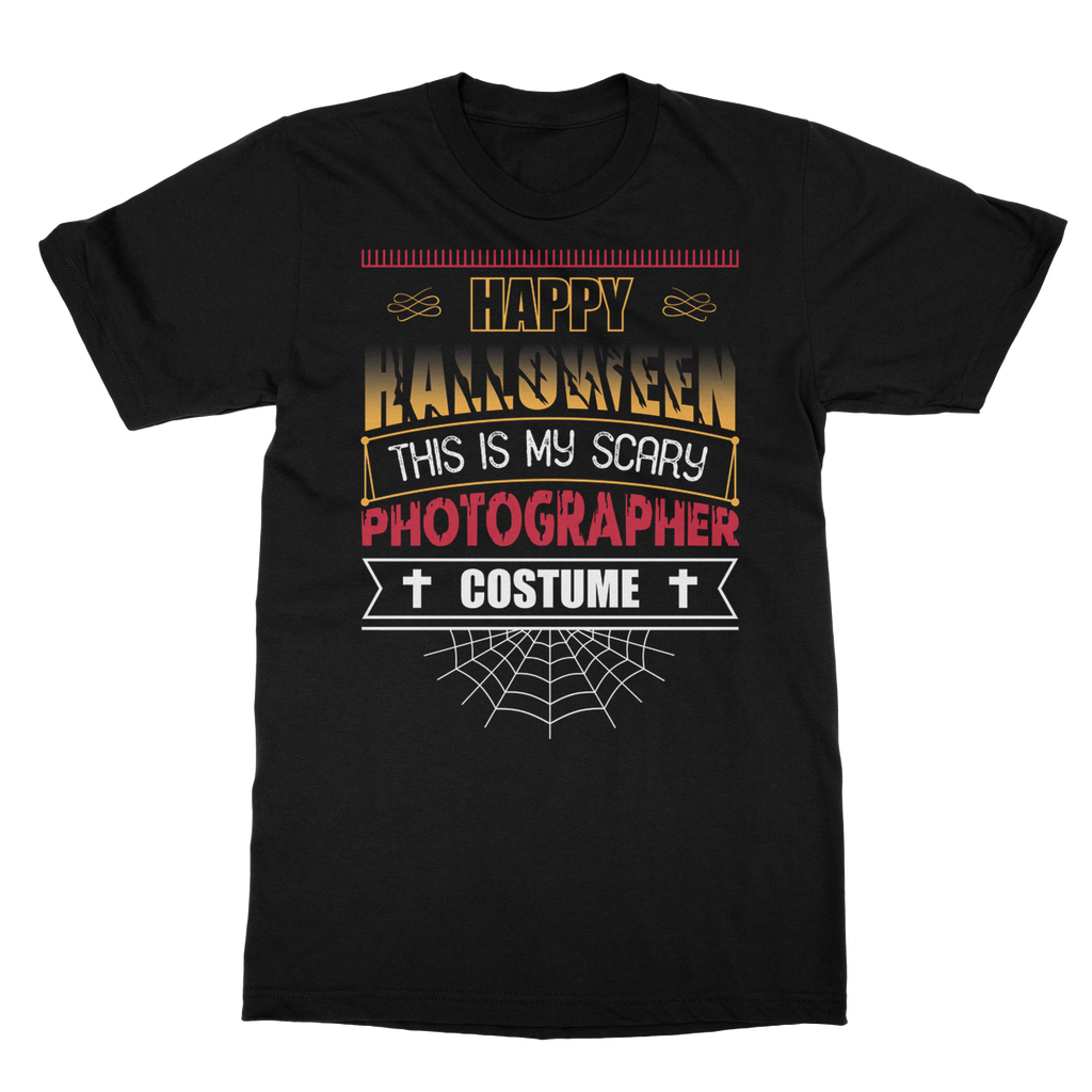 This Is My Scary Photographer Costume T-Shirt