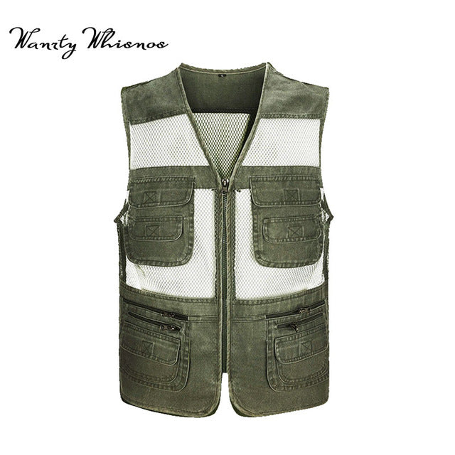 Classic Casual Photography Vest