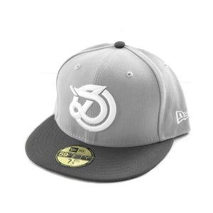 DLOG - New Era 59Fifty Fitted Cap - Light Grey Charcoal