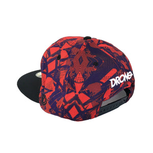 DRONE x DJ ANIT - Snapback Cap - Red Purple