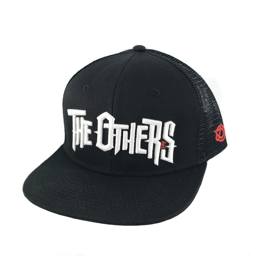DRONE x THE OTHERS - Trucker Snapback Cap - Black