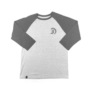 1919RE  - Mens Heather Raglan