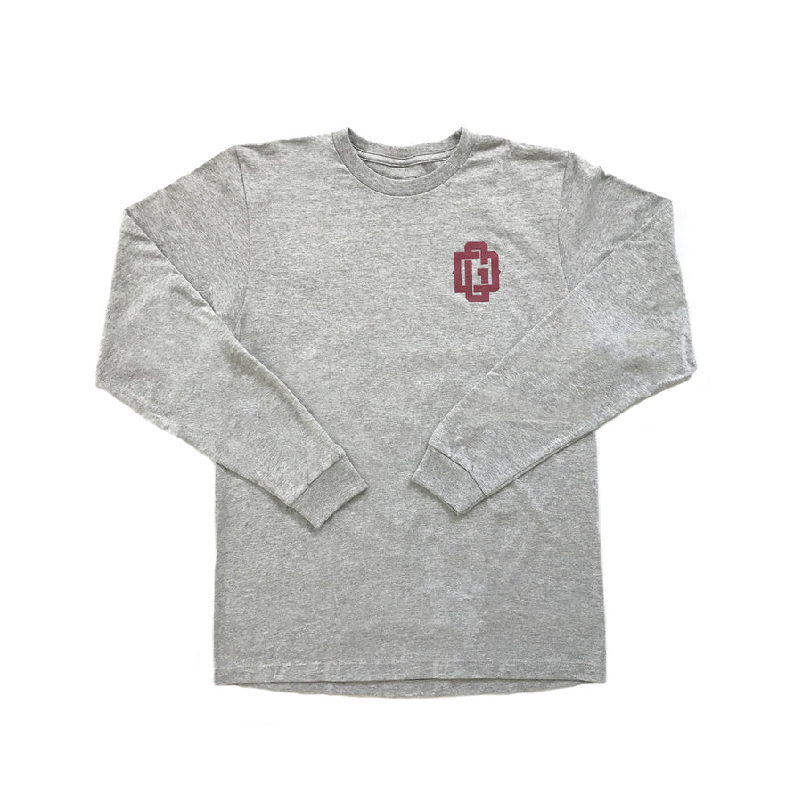 DG  - Mens Heather Longsleeve Tee