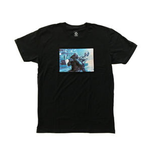 DRAG  - Mens Black Soft Tee