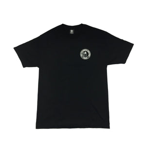FLATLINERS  - Mens Black Tee