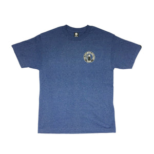 FLATLINERS  - Mens Denim Heather Tee
