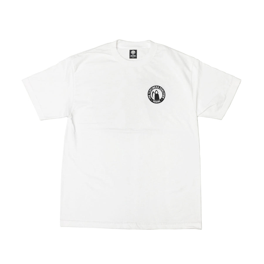 FLATLINERS  - Mens White Tee