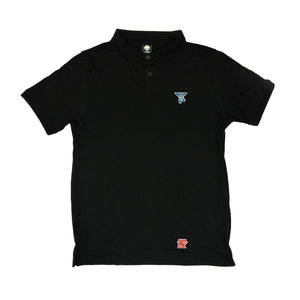 MEGA - Mens Black Polo
