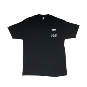 NMPT  - Mens Black Pocket Tee