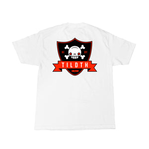 SHIELD  - Mens White Tee