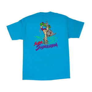 SHRED - Mens Turquoise Tee