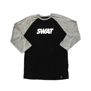 SWAT  - Mens Black/Heather Raglan