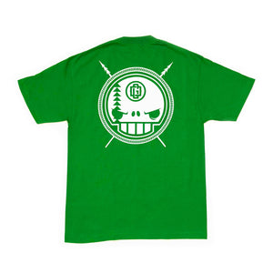 WARR  - Mens Kelly Green Tee