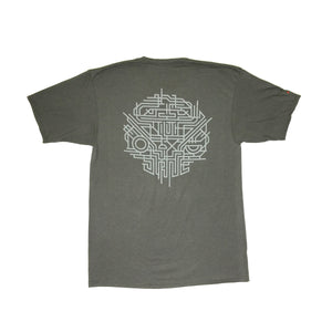 WIRED  - Mens Charcoal Soft Tee