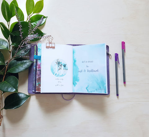 Quote Notebooks Little Reminders Travelers Notebook Inserts