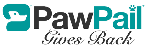 PawPail Gives Back Logo