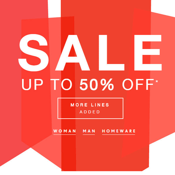 Up to 50% Sale at French Connection.