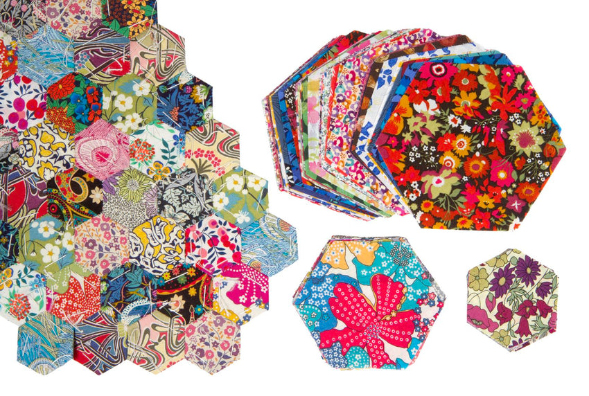 Pre Cut Fabric Hexagons