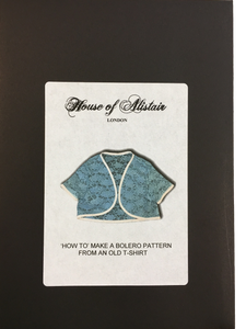 'How To Make' a Bolero Pattern