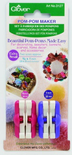 Clover Pom Pom Makers
