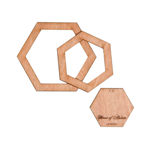 English Paper Piecing Templates - Full Hexagons