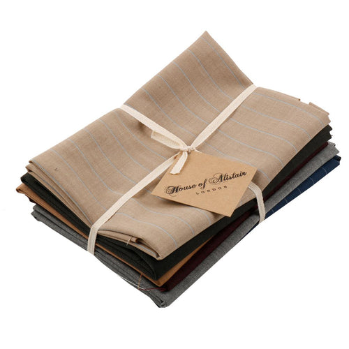 SAVILE ROW WOOL FAT QUARTER PACK