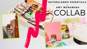 NaturalAnnie Essentials + Amy McNamara Art & Design Collaboration
